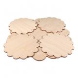 Dřevěné prostírání vzor 10