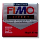 Fimo effect - rubínově červená 56g