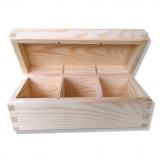 Krabička na čaj - 3 přihrádky
