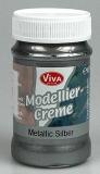 Modelovací krém - metalické stříbro 90 ml