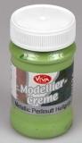 Modelovací krém - světle zelená perleť 90 ml