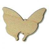 Předměty překližka - motýl