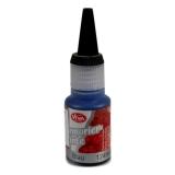 Mramorovací inkoust - modrý 25 ml