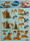 Papíry na decoupage 3D - Bambi