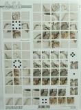 Papíry na decoupage 3D - kala černobílá