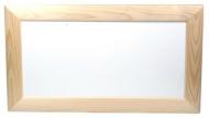 Rámeček dřevěný, mírně zaoblený 16x32 cm