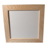 Rámeček dřevěný plochý 16x16 cm (2,5)