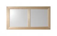 Dvojrámeček dřevěný 2x16x16 cm