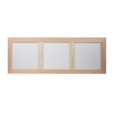 Trojrámeček dřevěný 3x16x16