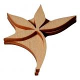 Razítko na textil - flora 108