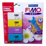 Sada Fimo Soft pro děti - Funny Garden