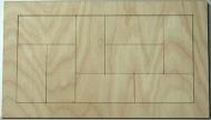Skládačka na decoupage - 24x12 cm