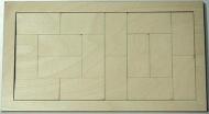 Skládačka na decoupage - 32x16 cm