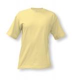 Tričko Adler CLASSIC unisex - světle žlutá