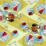 Ubrousek čaj - odpolední čaj
