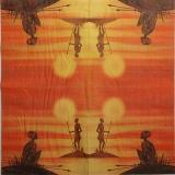 Ubrousek Afrika - domorodci 1