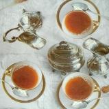 Ubrousek čaj - šálky