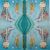 Ubrousek dětský - slon a klaun