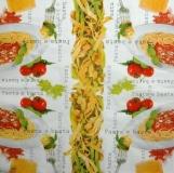 Ubrousky jídlo - pasta e basta