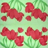 Ubrousek květiny - tulipány