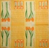 Ubrousek květiny - tulipány lyrics