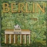 Ubrousek města a místa - Berlín 2