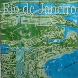 Ubrousek města a místa - Rio de Janeiro