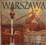 Ubrousek města a místa - Varšava