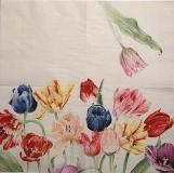 Ubrousek  Mona Svärd - tulipány