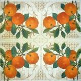 Ubrousek ovoce - pomeranče větvička