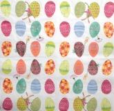 Ubrousek velikonoční - barevná vajíčka
