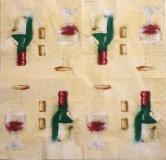 Ubrousek víno - červené víno
