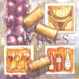 Ubrousek víno - víno a zátky