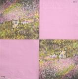 Ubrousek světoví malíři - Monet, zahrada
