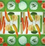 Ubrousek jídlo- zelenina