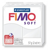 Fimo soft - bílá  57g