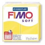 Fimo soft - žlutá  57g