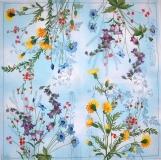 Ubrousek květiny - luční květy mix 2