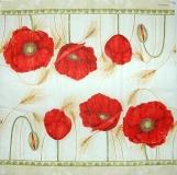 Ubrousek květiny - vlčí máky 9
