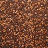 Ubrousek káva - zrnka kávy 5