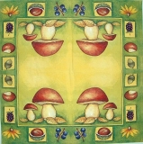 Ubrousek plody - hříbky 2