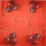 Ubrousek ovoce - rudé třešně
