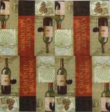 Ubrousek víno - vývrtka