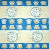 Ubrousek čaj - čajový servis 2