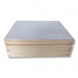 Dřevěná krabička 13x13