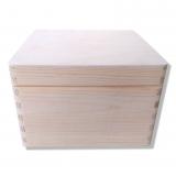 Dřevěná krabička velká 20x20
