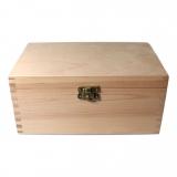 Dřevěná krabička se zámkem