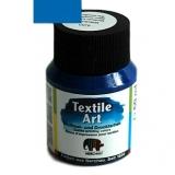 Barva na textil - modrá