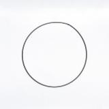 Drátěný kruh na lapač snů černý - průměr 20 cm