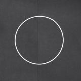 Drátěný kruh na lapač snů bílý - průměr 20 cm